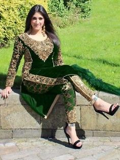 Golden Giri Georgette Black Heavy Salwar Suit Heavy Embroidery with Stone Work Occasionally Festive Party Wear Straight Dress Material Singles Wholesale Supplier from Surat in Best Price only @ INR Pakistani Bridal Dresses, Pakistani Dress Design, Pakistani Outfits, Indian Dresses, Indian Outfits, Pakistani Fashion Party Wear, Bollywood Fashion, Designer Party Wear Dresses, Designer Salwar Suits