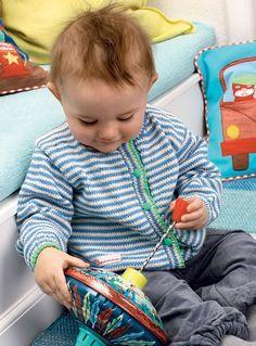 Strik for en god sag: Bomuldstrøje til baby - Hendes Verden