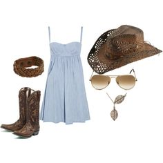 Country Jam outfit!! So ready for those tan lines, and cold beers!