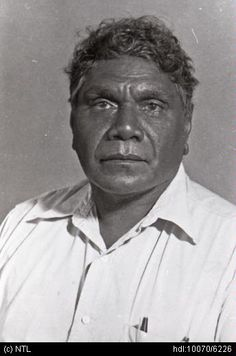 Albert Namatjira born Elea Namatjira, was a Western Aranda-speaking Aboriginal artist from the western MacDonnell Ranges in Australia. As one of the most prominent Aboriginal artist of the time, he was a pioneer of contemporary Indigenous Australian art. Australian Aboriginal History, Indigenous Australian Art, Indigenous Art, Australian Artists, Aboriginal Culture, Aboriginal Artists, Aboriginal People, Portraits, Artist Art