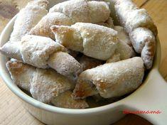 Cornulete de post cu bors | Prăjiturici și altele Pretzel Bites, Sausage, Biscuits, Bakery, Sweets, Cheese, Cookies, Meat, Food