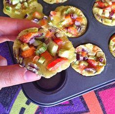 muffins salgados com tapiopca