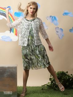 Every day is a fashion show & and the world is your runway. Daytime Dresses, Your Perfect, Look Chic, Flower Prints, Fashion Show, Cover Up, Runway, Costume, Spring