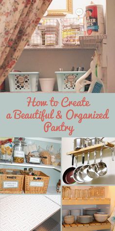 Use these tips to create a beautiful and functional pantry. @Remodelaholic.com #spon #organize #pantry #storage