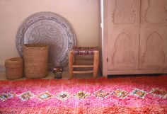Moroccan boucherouite https://www.etsy.com/shop/bringyourownsunshine