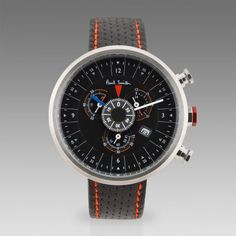 Paul Smith Watches - Black Cycle Eyes Chronograph Watch