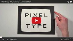 Breve storia della Tipografia in un simpatico stopmotion
