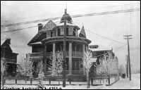 Located at 351-13th Avenue SW. Gladys Creeggan was the matron. The hospital later moved to 304 - 14th Avenue SW.  -  1915