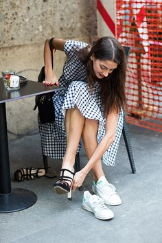 The Sartorialist - On the street... The Switch, Milan. Tuesday, August 26, 2014