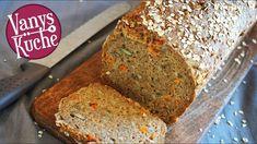 Vollkornbrot mit Karotten - Thermomix® - Rezept von Vanys Küche Bread Recipes, Banana Bread, Nom Nom, Baking, Desserts, Food, Paleo, Youtube, No Yeast Bread