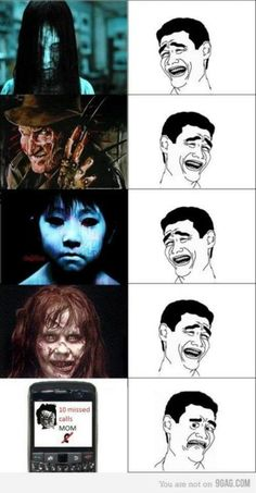 Scary. Movies. Mom.