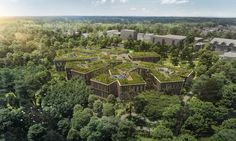 Green-roofed Czech Forestry Headquarters seeks symbiosis with the forest | Inhabitat - Green Design, Innovation, Architecture, Green Building