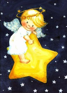 Good Night Angel, Good Night Sweet Dreams, Angel Illustration, Character Illustration, Angel Theme, Angel Kids, Angel Pictures, Happy Paintings, Diy Canvas Art