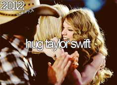 Freaking yes. <---- I CAN ACTUALLY SAY THAT I HAVE HUGGED TAYLOR SWIFT!!! THIS MAKES ME SO HAPPY OH MY GOSH!!!