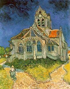 Vincent Van Gogh - La Chiesa di Auverse (1890)