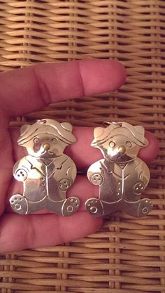 BIG Beautiful Dangle Animal Earrings by Andrea Russell on Etsy