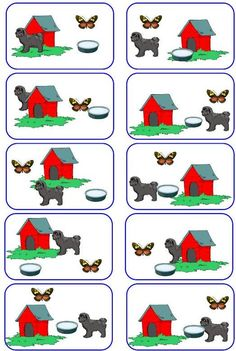 Game collection from a Hungarian site. Preschool Centers, Fall Preschool, Preschool Crafts, Positional Words Kindergarten, In Kindergarten, Montessori Activities, Preschool Activities, Teaching Kids, Kids Learning