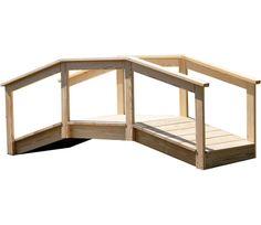 """Garden Bridge x 36""""W x 96""""D"""