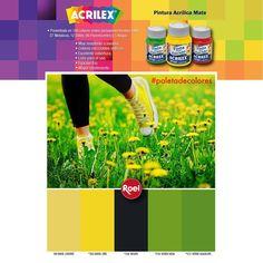 #Paletadecolores #Acrilex