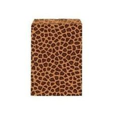 """50 4 X 6 Small Paper Bags Cheetah Leopard Animal Print Party Retail Free Shipping From Sprinkles by Sprinkles Gifts. $4.99. New 50  Pack 4"""" x 6 """" Leopard Print Flat Paper Merchandise Bags.  Compare sizes before you buy as these come smaller as well online. We also have many size leopard print cardboard jewelry boxes as well ONLY AT SPRINKLES GIFTS!."""