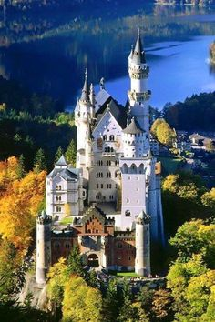 Most Beautiful Castles - Neuschwanstein Castle, Germany. Would love to visit the beautiful castles in Germany. Places Around The World, Oh The Places You'll Go, Places To Travel, Travel Destinations, Places To Visit, Around The Worlds, Travel Europe, Germany Destinations, Beautiful Places In The World