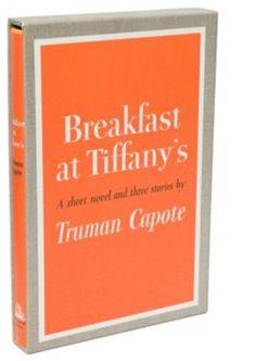 Truman Capote  Breakfast at Tiffany's