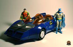 Kenner Super Powers Collection: Batman, Robin, Batmobile (1983)