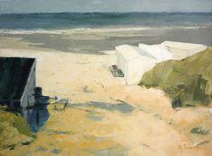 Naar het strand, Mieke Corvers