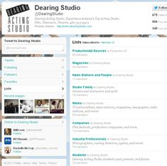 Twitter tips - including what to put in a bio and how to make a background