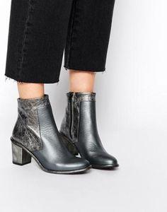 3e4030ff7ce5 miista sheryl heeled ankle boots grey  shoes  boots  ankleboots   heeledankleboots  heeledboots