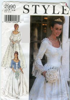 23 Elegant Picture of Ball Gown Sewing Patterns Ball Gown Sewing Patterns Lovely Princess Style Scoop Neck Wedding Dress Bridesmaid Dress Wedding Dress Sewing Patterns, Sewing Patterns Girls, Clothes Patterns, Vintage Patterns, Gown Pattern, Neck Pattern, Ball Gowns Evening, Wedding Dress Pictures, Wedding Bridesmaid Dresses