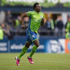 Sounders Forward Obafemi Martins