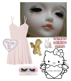 """[dont] hurt me [dont] talk to me"" by sadfringe ❤ liked on Polyvore featuring Talula"