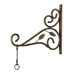 efb29298c24 Amazon.com   Deer Park HP204 Leaf Wall Bracket (Discontinued by Manufacturer)    Plant Hooks   Patio