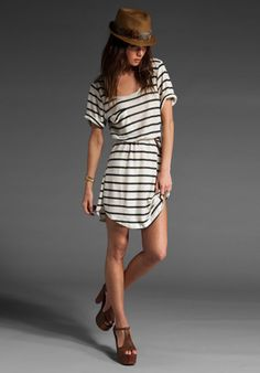 Like the casual feel of this t-shirt dress.