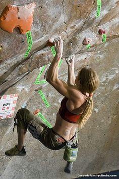 Indoor Rock Climbing Gear Shop @  OutdoorSporting.com #climbinggym #rockclimbing #climbing #womenclimbing