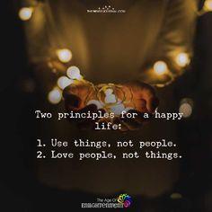 Two Principles For A Happy Life - https://themindsjournal.com/two-principles-happy-life/