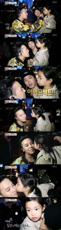 Haru finally gets her wish fulfilled with G-Dragon on 'Superman is Back'! | allkpop.com