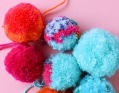 My secret craft technique for making the fluffiest pom poms ever. You'll never guess the simple tool that I use to fluff up my pom poms.