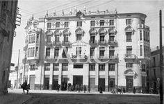Murcia, marzo de 1927. Un colegio universitario. El Colegio Mayor de la Universidad y residencia de estudiantes, primero de los organizados en España como consecuencia de la nueva legislación de universidades Murcia, en ABCfoto