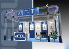 JEOL Shanghai, China,English Booth Design,JEOL Ltd. Exhibition Hall Planning【Demage English Exhibition Company】