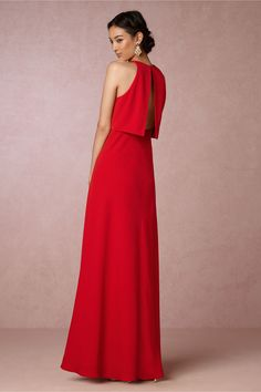 BHLDN Iva Crepe Maxi in  Bridesmaids View All Dresses | BHLDN