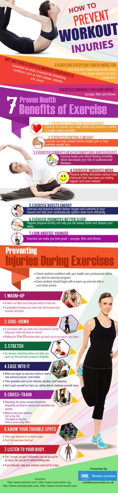 7 Ways You Can Prevent Workout Injuries At The Gym