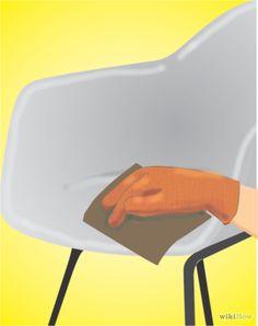 Cómo pintar una silla de fibra de vidrio en diez pasos.