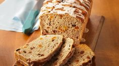 Make this show-stopper yeasted bread, with dried fruits and sweet glaze, for a special breakfast or brunch.