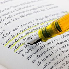 Fancy - Fountain Pen with Highlighter Ink