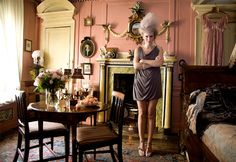 """The team at Hair and Jerome styled the hair for a unique creative fashion presentation at an century house in Spitalfields, East London."" At Dennis Severs' House, London. London Eye, East London, Palace, Candy Room, James Bond Theme, Theme Tunes, Editorial, Reisen In Europa, Stuff To Do"