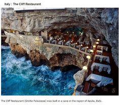 endroits-a-visiter-avant-de-mourir-restaurant-falaise 39 endroits à visiter avant de mourir