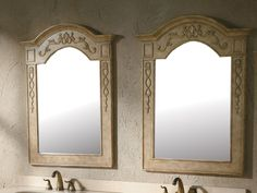 "James Martin 206-001-5901 Riviera 31"" Mirror, Antique [Sold as a pair]"