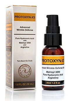 Botox Alternative:hyaluronic Acid,15% Matrixyl 3000, 20% Argireline,5 % Vitamin C,repair, Boost Collagen, 1oz Serum by PROTOXYN -X5